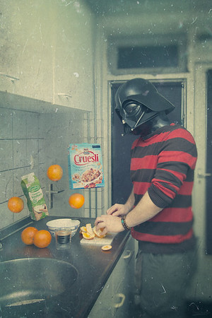 364 The Lighter Side of a Darth Breakfast