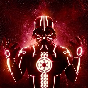 Red Tron Vader