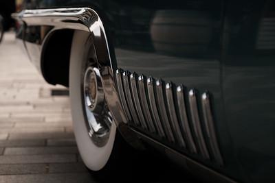 Klassieke Chevrolet - detail
