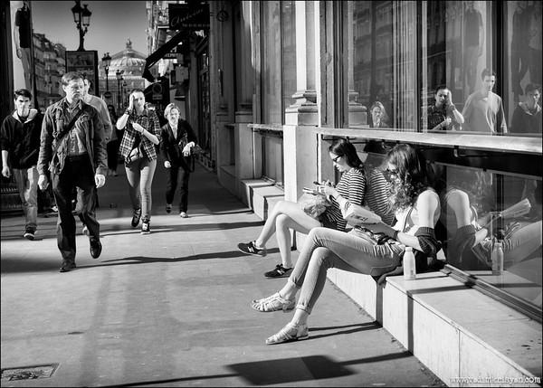 Streets of Paris, Paris, 2015