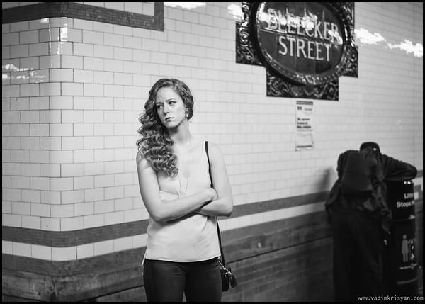 Bleecker St Station, New York,2015