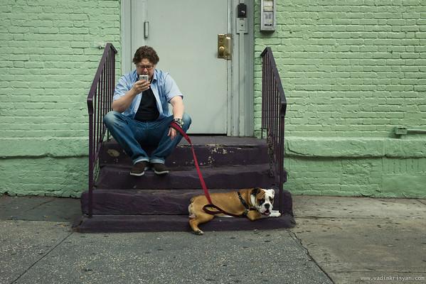 A Break in Soho, New York,2012