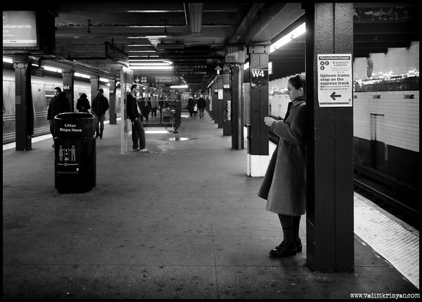 West 4th Subway Station, New York