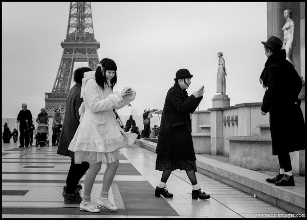 Japenese Tourists, Paris,2014