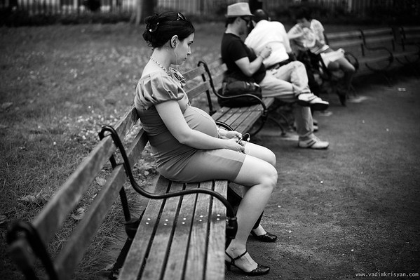 A Moment of Solitude, New York, 2011
