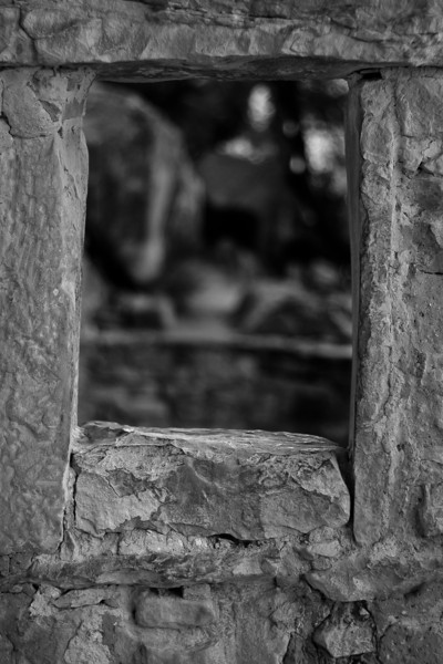 Window detail, Cliff Palace, Mesa Verde