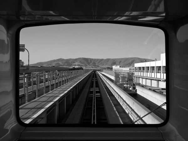 AirTrain View, SFO - San Francisco, California