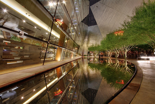 City Center Reflecting Pond - Las Vegas, Nevada