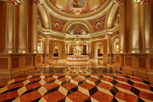 Venetian Lobby - Las Vegas, Nevada
