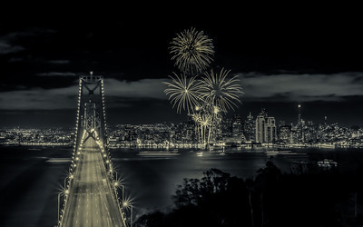 Gotham New Years Fireworks