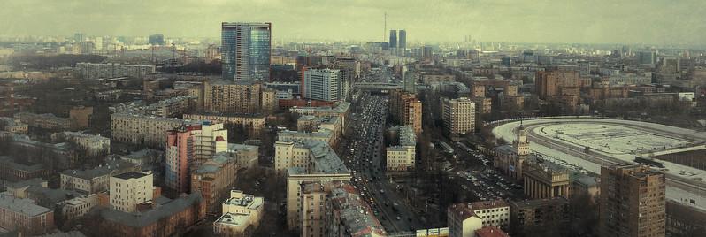 Москва, район метро Беговая