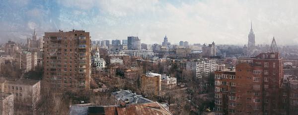 Москва, район метро 1905 года