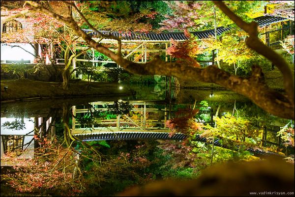 Kodai-Ji  Temple, Foliage Night Illumination, Kytoto,2015