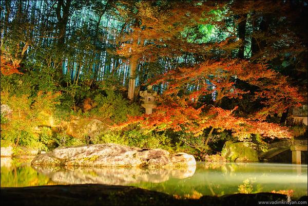 Shoren In Temple, Foliage Night Illumination, Kytoto,2015