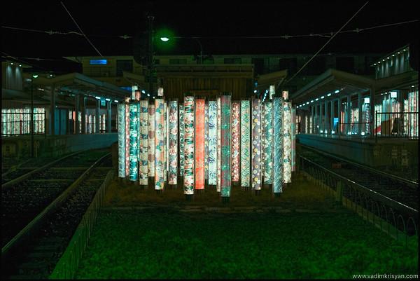 Arashiyama Train Station , Kimono Forrest, Kyoto,2015
