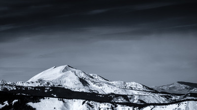 Mount Sopris from Snowmass Mountain