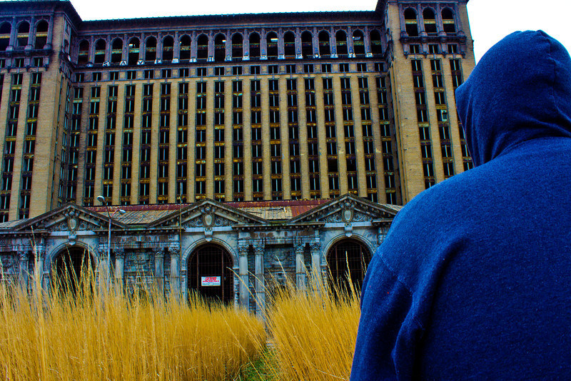 Michigan Central Train Depot, Detroit MI