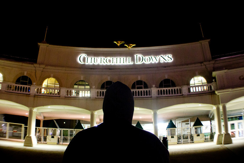 Churchill Downs Louisville KY, 5.3.11, <br /> A few days before Kentucky Derby 137.