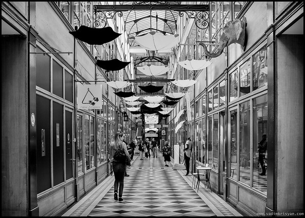 Passage du Grand Cerf, Paris, 2015