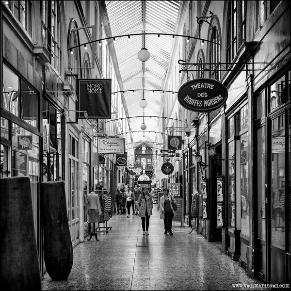 Passage de Choiseul,Paris,2015