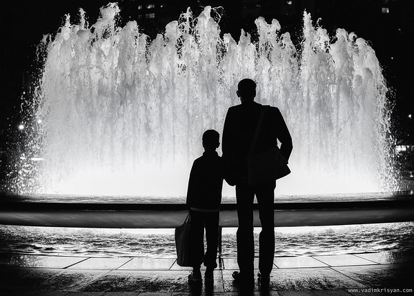 Father and Son, New York, 2016