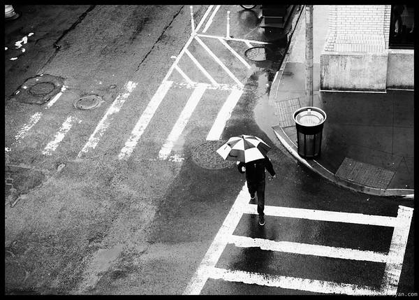 Geometry in the street, New York, 2016