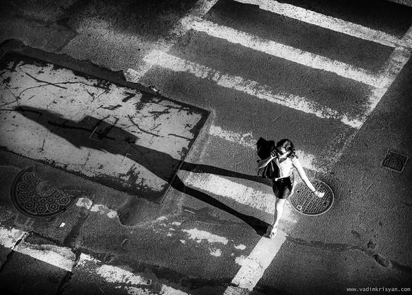 Walking Shadow, New York, 2016