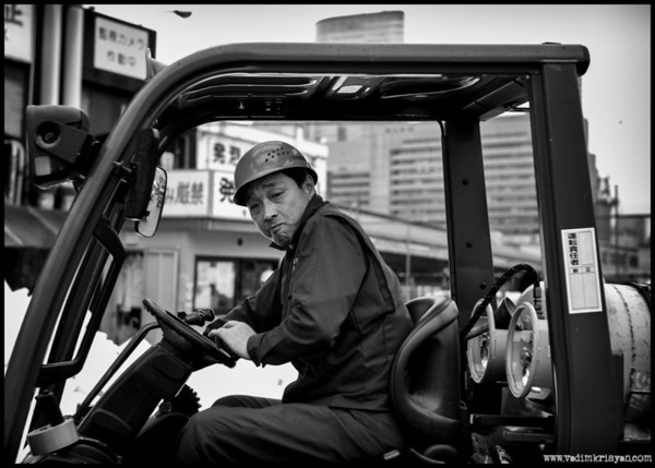 Delivery Driver, Tsukiji, Tokyo,2014