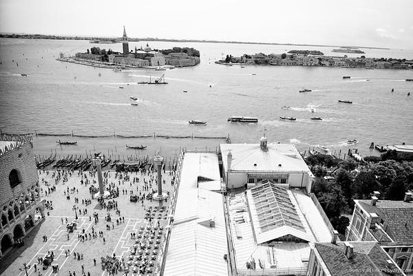 View from Campanile di San Marco, Venice, 2016