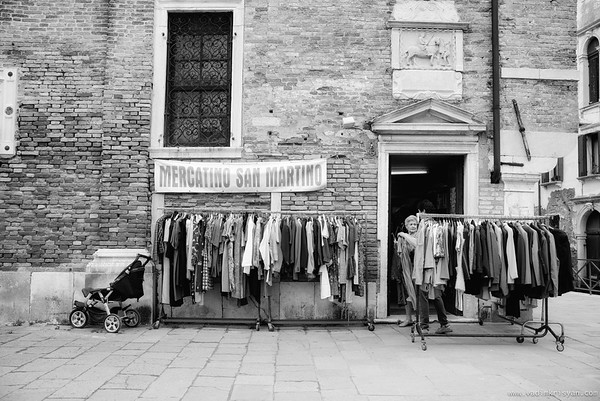 Clothes Merchand, Castello, Venice, 2016
