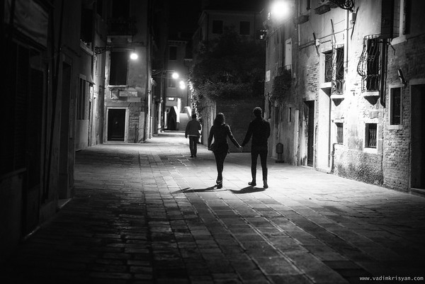 Cannaregio at Night Venice, 2016