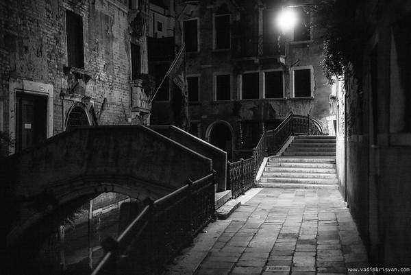 Empty Streets, Venice, 2016