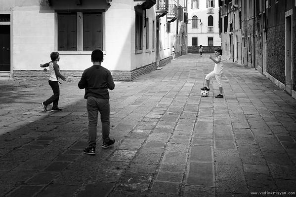 Afternoon Playtime, Campo Di Santa Margherita Corte  del Calderer, Venice, 2016