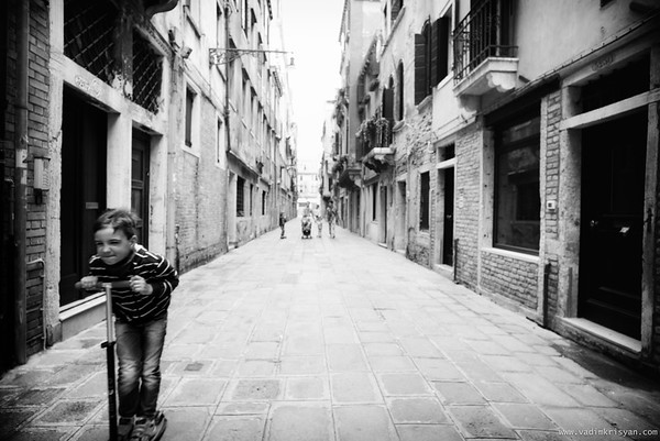 Playtime in Castello, Venice, 2016