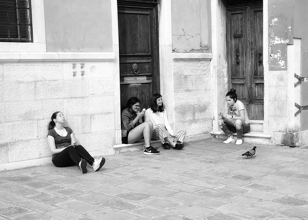 Break in Dorsoduro, Venice,2016