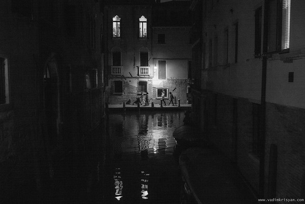 Cannaregio at Night (Fondamenta S. Felice), Venice, 2016