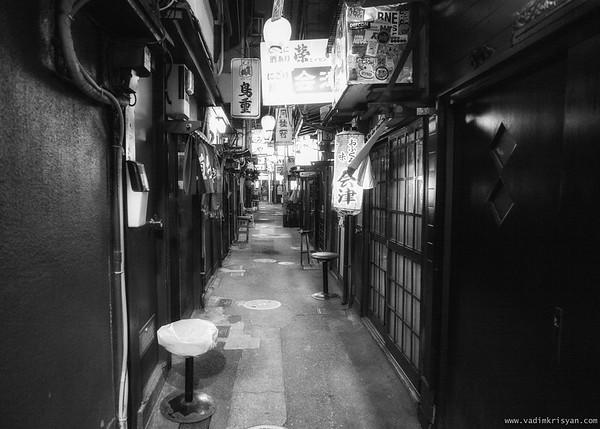 Nonbei Yokocho, Shibuya, Tokyo, 2016