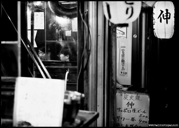 Yakitori Aisle, Shinjuku, Tokyo,2014