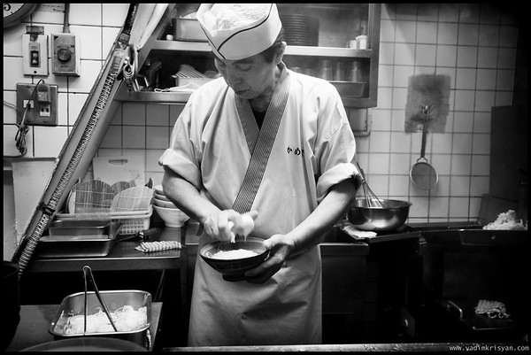 Soba & Udon Chef, Shinjuku, Tokyo,2014
