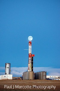 Fracking Supermoon