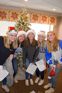 Service Saturday - Christmas Caroling at Givens Estate