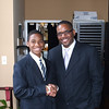 """Mayor"" Tre' Crowder and Council Member Gerald Byrd"