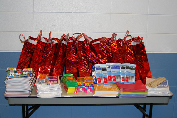 2009 School Supplies Giveaway