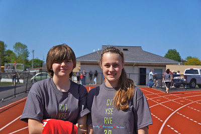 Walk for Hunger at Lutheran West's Alumni Field after City Serve 2012