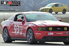 2011 Mustang GT track/autocross car with COBRA Suzuka seats installed by Vorshlag. Slider on driver's side, fixed on passenger's side.