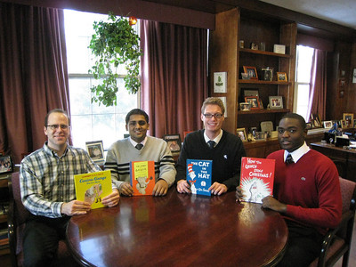 Dominican College student and friends run book drive