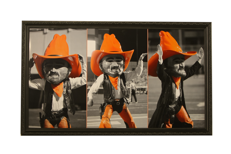 Framed Pistol Pete Prints