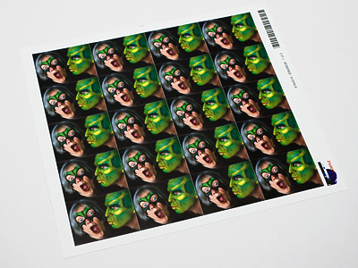 "Photo Stickers Your photo prints with excellent color reproduction on twenty 1.57"" x 2.32"" stickers. All the stickers come on one sheet, and are pre-cut. These stickers are a great way to add a personalized touch to your greetings or to label your children's belongings.    $8.95"
