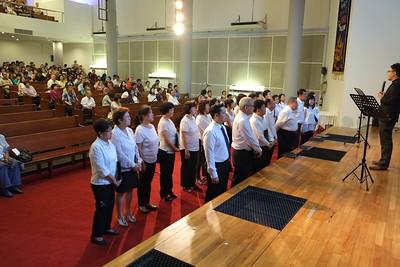 Choir Installation 2015