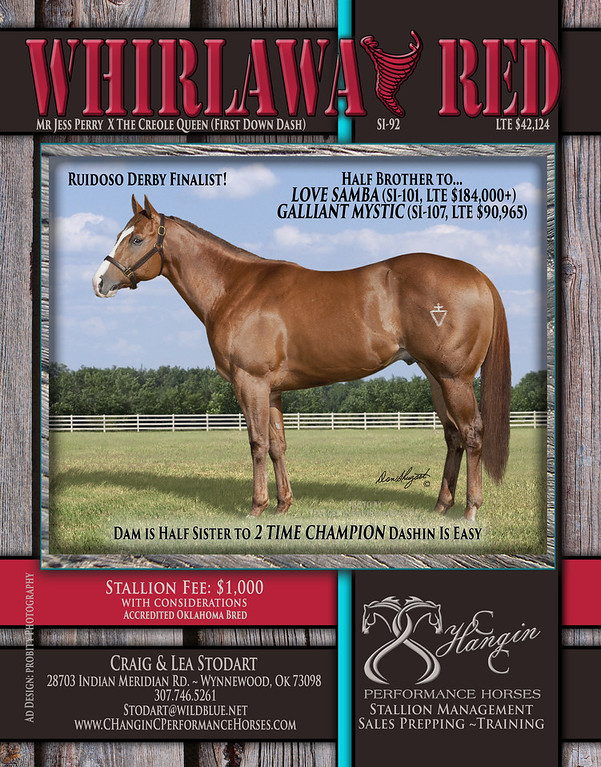 Whirlaway Red
